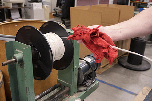 Re-spooling